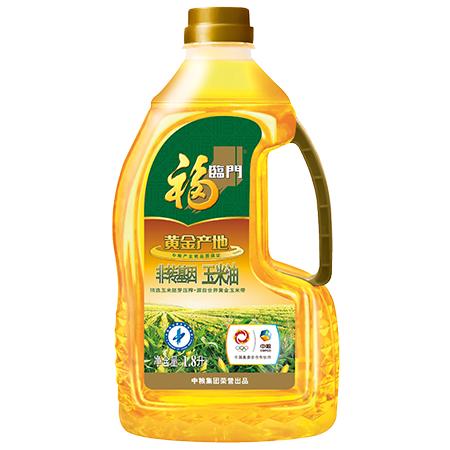 中粮福临门黄金产地玉米油1.8L