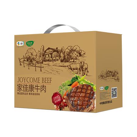 中粮家佳康进口牛排礼盒A款584g