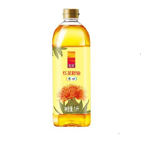 中粮悦润纯红花籽油1L