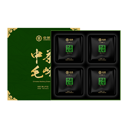 中粮中茶徽绿春韵毛峰礼盒100g
