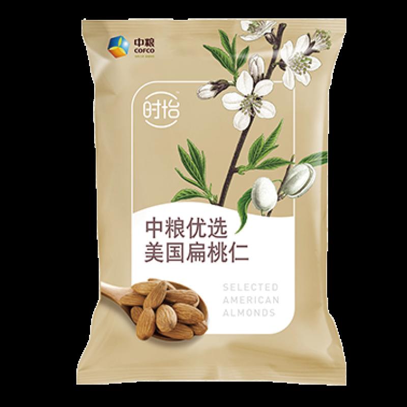 中粮时怡优选美国扁桃仁(100g)