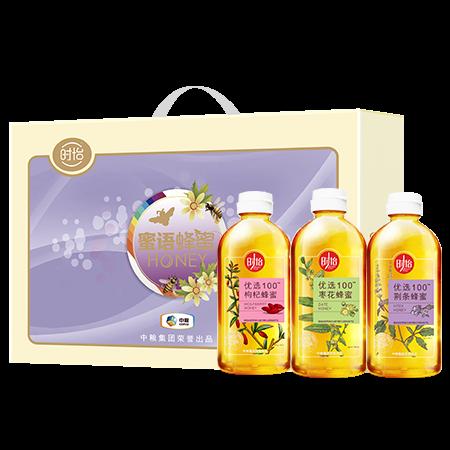 中粮时怡蜜语蜂蜜礼盒900g